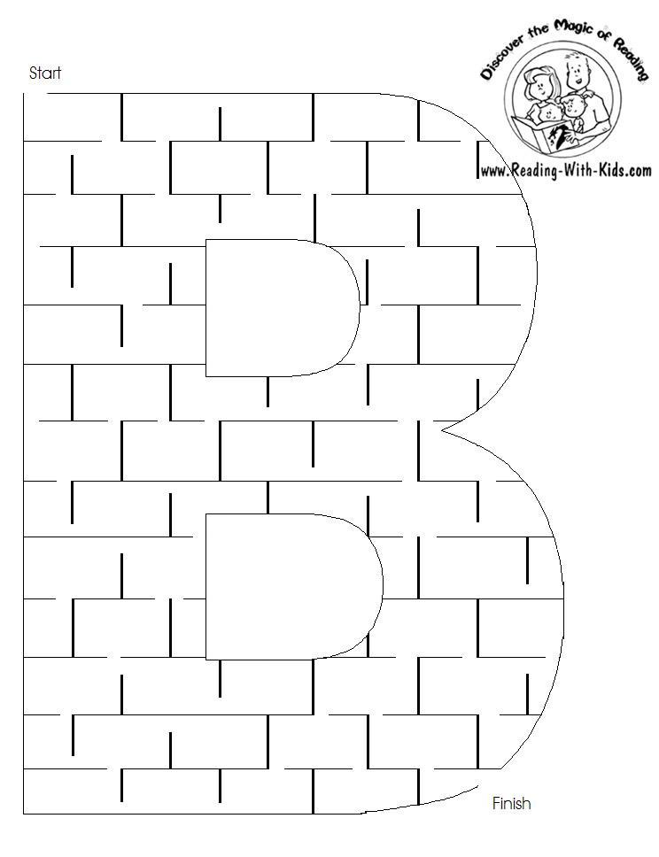 B maze