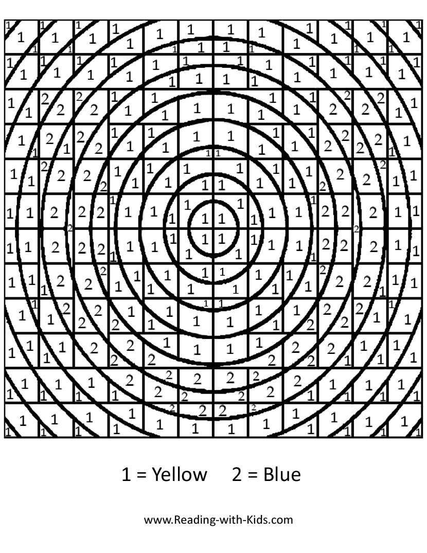 cool design color by number printable pages flowers coloring pages