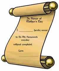 Homework Contract