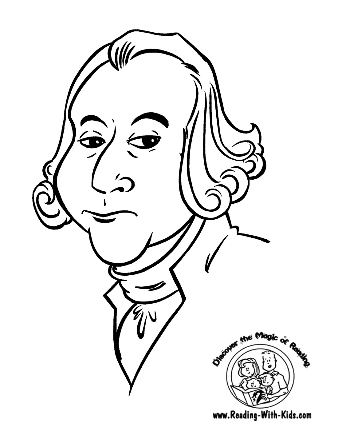 George Washington Crossing The Delaware Coloring Page George Washington Coloring Page