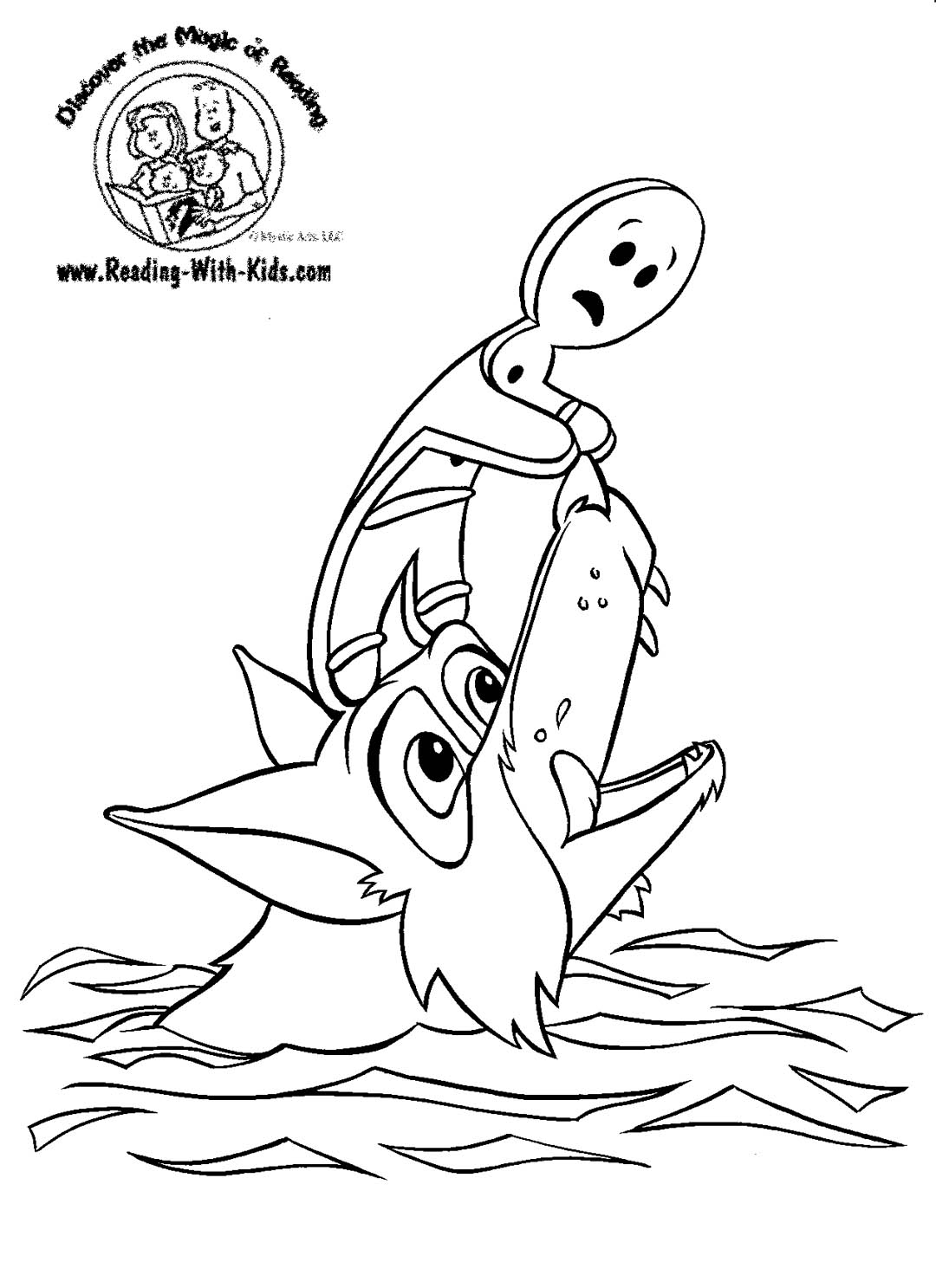 fairy tale coloring book pages - photo#7