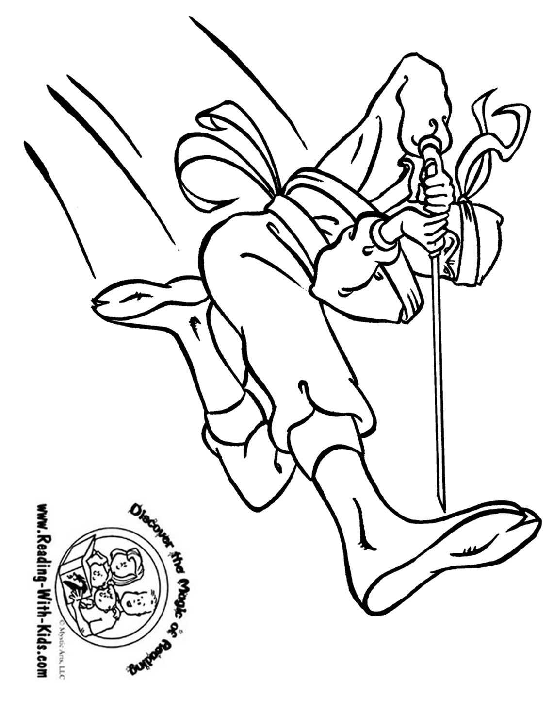 Free coloring pages for reading -  Cowboy Coloring Page Ninja Coloring Page