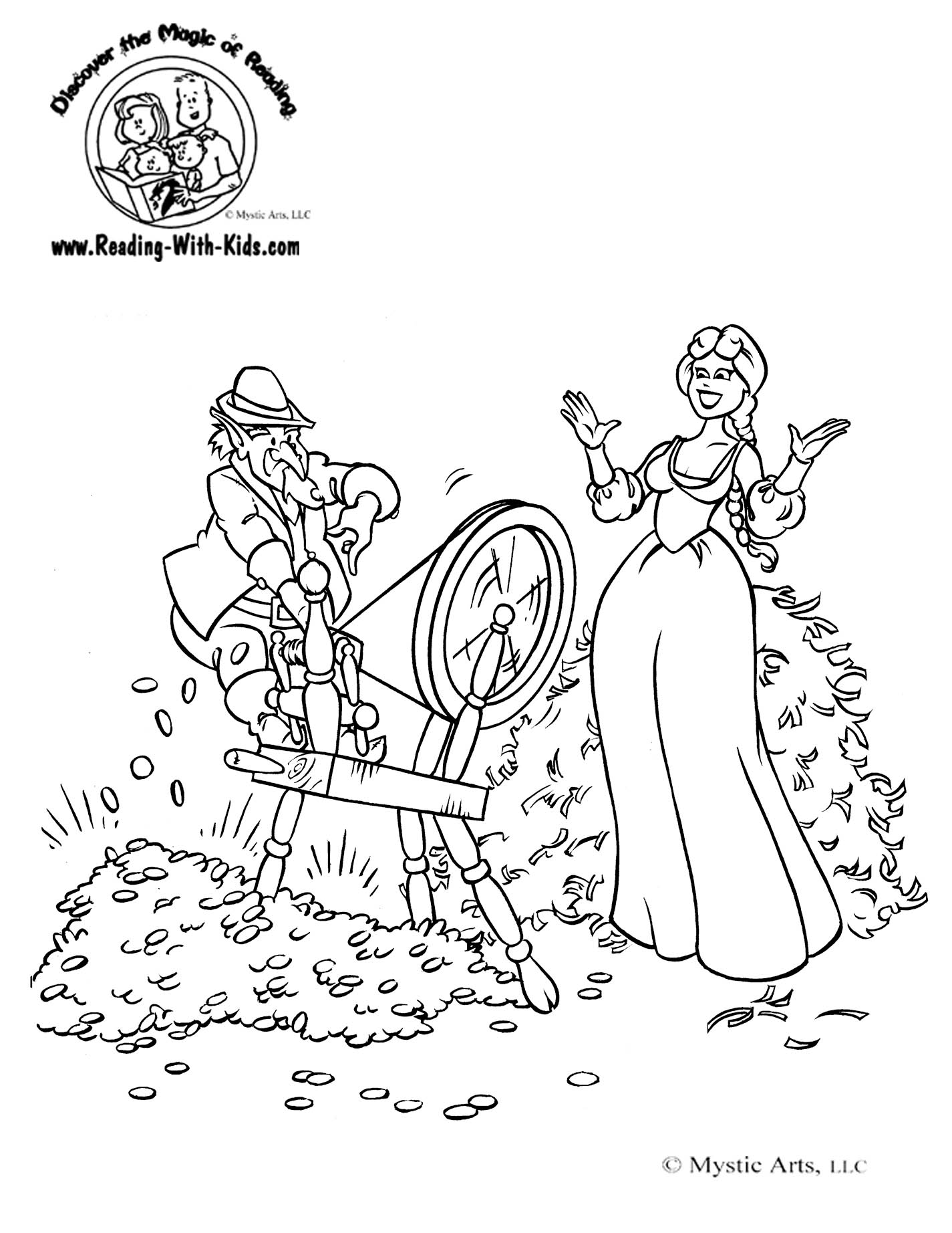 fairy tale coloring book pages - photo#16