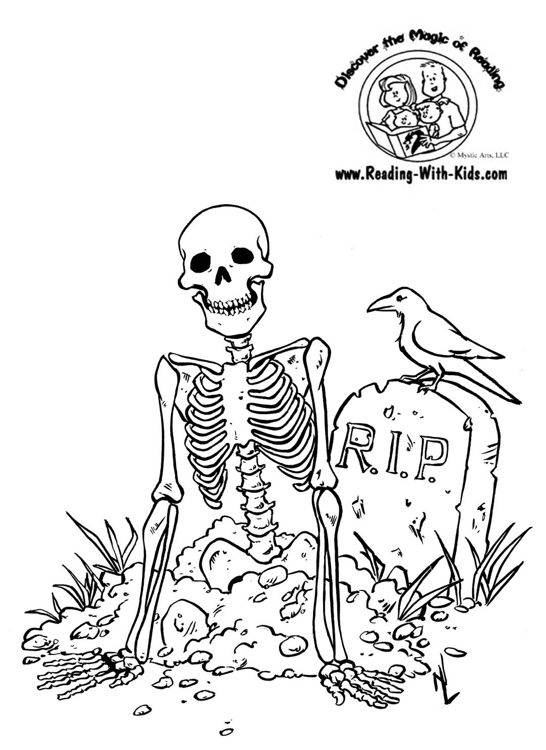 Coloring Pages Cute Skeleton Coloring Pages For Kids Halloween