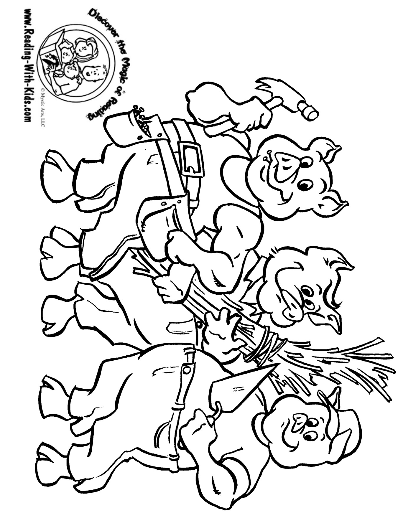fairy tale coloring book pages - photo#9
