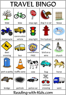 This is a picture of Divine Printable Travel Bingo