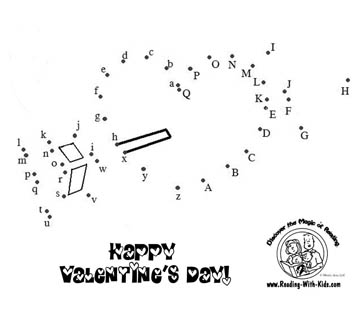 Valentine Dot to Dot